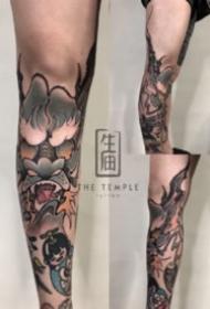 成都生庙刺青的纹身作品