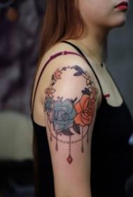南充上刺青纹身作品图片
