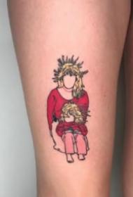 波特兰纹身师Shannon Wolf创作的童年记忆俏皮纹身