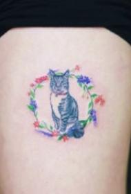 漂亮低调的迷你小纹身图案