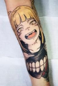 火影忍者人物包臂纹身图案