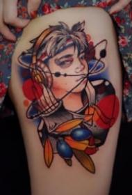 西安木子刺青的纹身作品