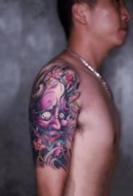 好看的大臂纹身图案欣赏