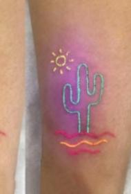 9款有趣的荧光纹身图案