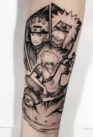动漫火影忍者的纹身图案大全