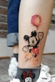 米奇妙妙屋的米老鼠纹身图案