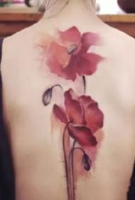18款中国风的水墨纹身作品欣赏