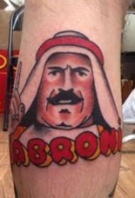 极具异国风情的动画纹身图案