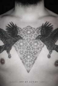10组另类的对称纹身图案