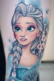 可爱的动画人物纹身图片大全
