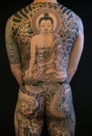 一组霸气的传统龙纹身图片