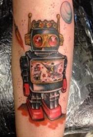 有意思的机器人纹身图案10张