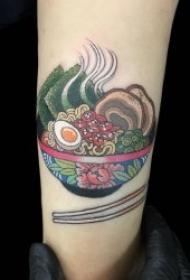 11张食物主题纹身图案