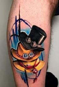 海贼王动漫主题纹身图案