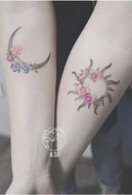精选27款适合闺蜜和纹身图案