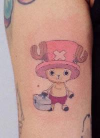 海贼王动漫人物小纹身图案