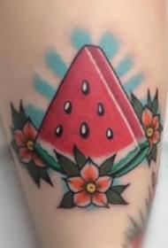 多款关于水果的主题纹身图片