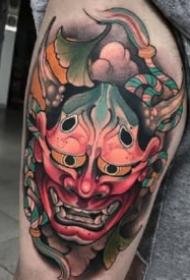 多种风格的般若纹身图案
