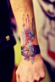 纹在手腕上好看的纹身图案