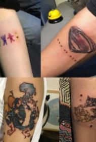 武汉纹身锦上刺青的9款作品欣赏