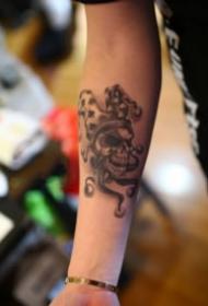 徐州刺入魂纹身的小纹身图片
