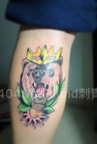 厦门404NotFound刺青店纹身作品欣赏