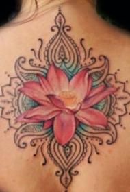 漂亮的莲花纹身图案大全