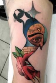 超现实主义的设计感纹身图案