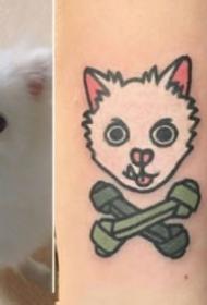 可爱的卡通小动物纹身图案大全