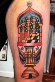 18张红色oldschool风格的纹身图案