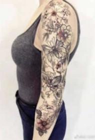 18张个性帅气的大花臂纹身图案