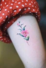 超简约适合女生的小清新纹身图案