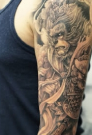 有魅力的新传统纹身图案大全