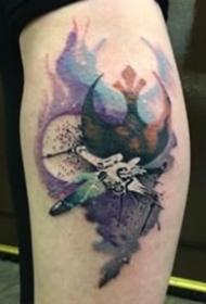 绝地武士的符号纹身图案大全