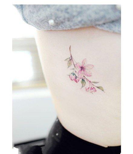 漂亮的女生小清新纹身图案大全