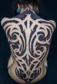 霸气的花体图腾纹身图案大全
