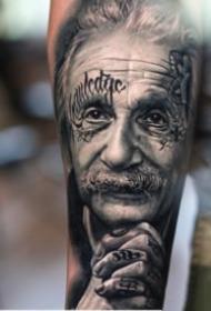 逼真写实的欧美人像纹身图案大全