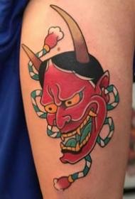 老传统的9张般若纹身作品图案