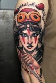 18张newschool的欧美女郎纹身图案