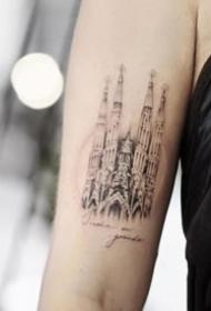 环游世界的旅行主题纹身图案大全