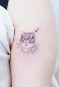 36张适合女生的小清新简约纹身图案大全