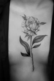 18张简约好看的黑灰小纹身图案