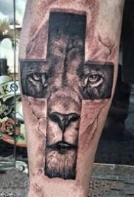 多款关于十字架的纹身图案大全