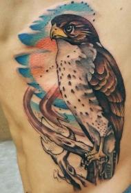 多款男生腰部的创意纹身图案