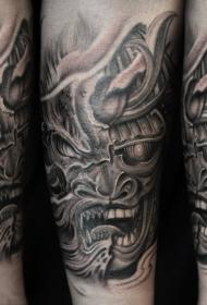 霸气外漏的飞龙纹身图案