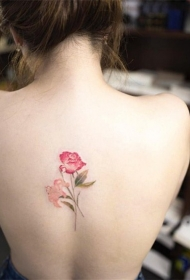 唯美的小清新纹身图案
