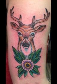 生动活泼的动物纹身图案
