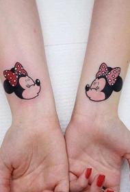 极具创意的迪士尼卡通人物纹身图案