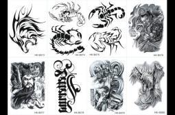 纹身贴怎么贴?纹身贴的使用方法
