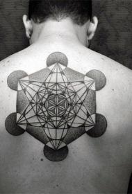 背上的纹身图案   多款个性十足的背上纹身图案
